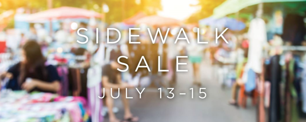 Town Center Sidewalk Sale