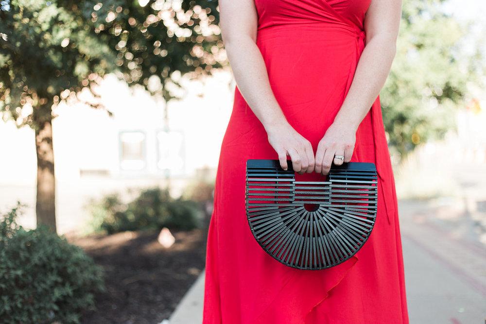 Summer Red Dress
