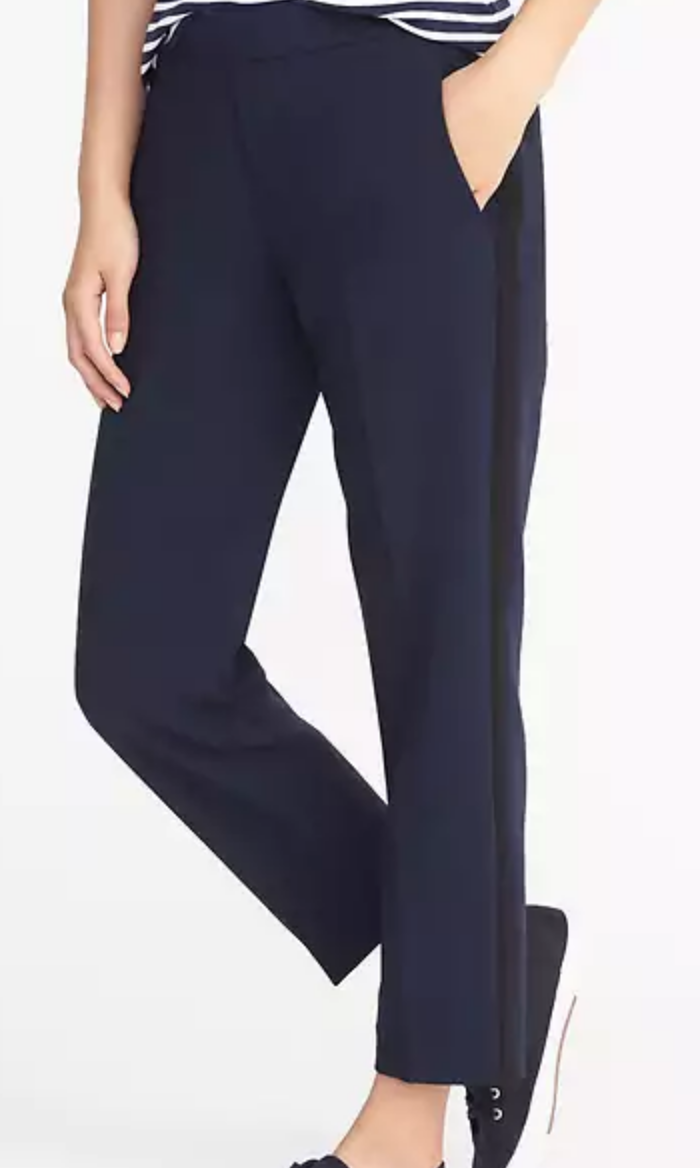 Navy tuxedo Pants for work