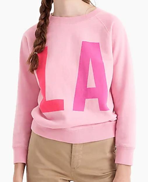 J.Crew LA Sweatshirt