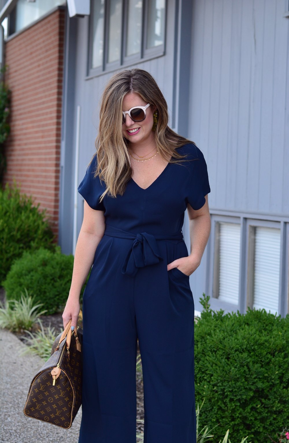 Navy Jumpsuit | Sophisticaited