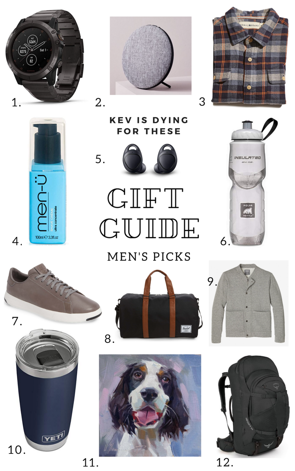Men's Gift Guide - My Husband's Personal Picks