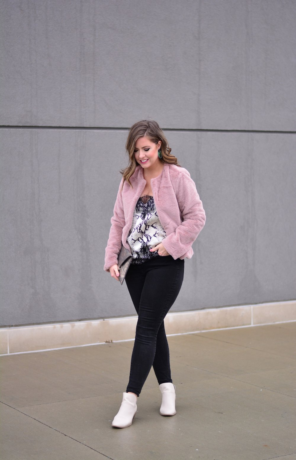 Valentine's Day Outfit | Sophisticaited | Cait Fore