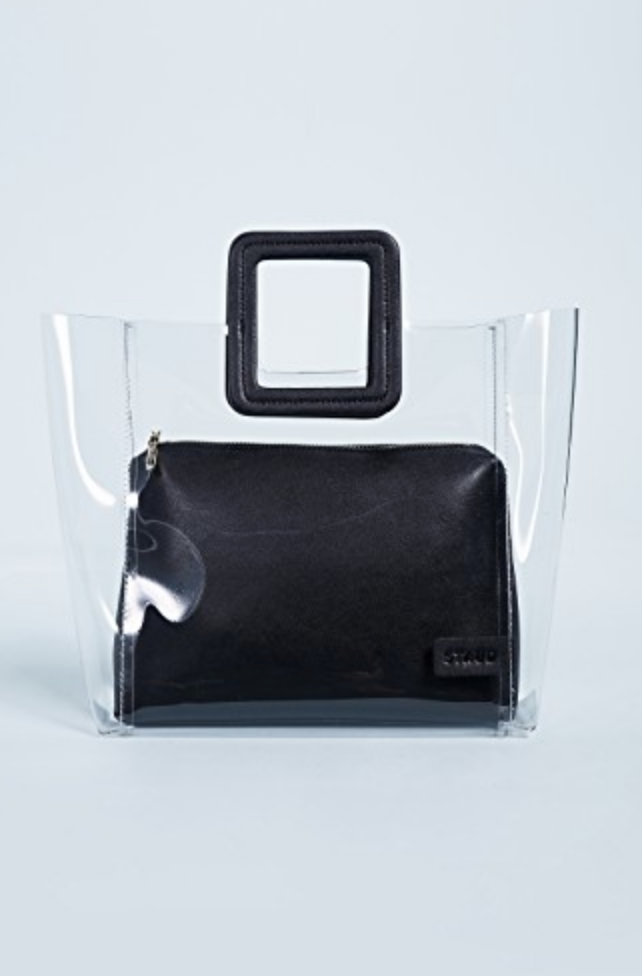 ClearHand-bag - These bags create such a statement to any outfit!