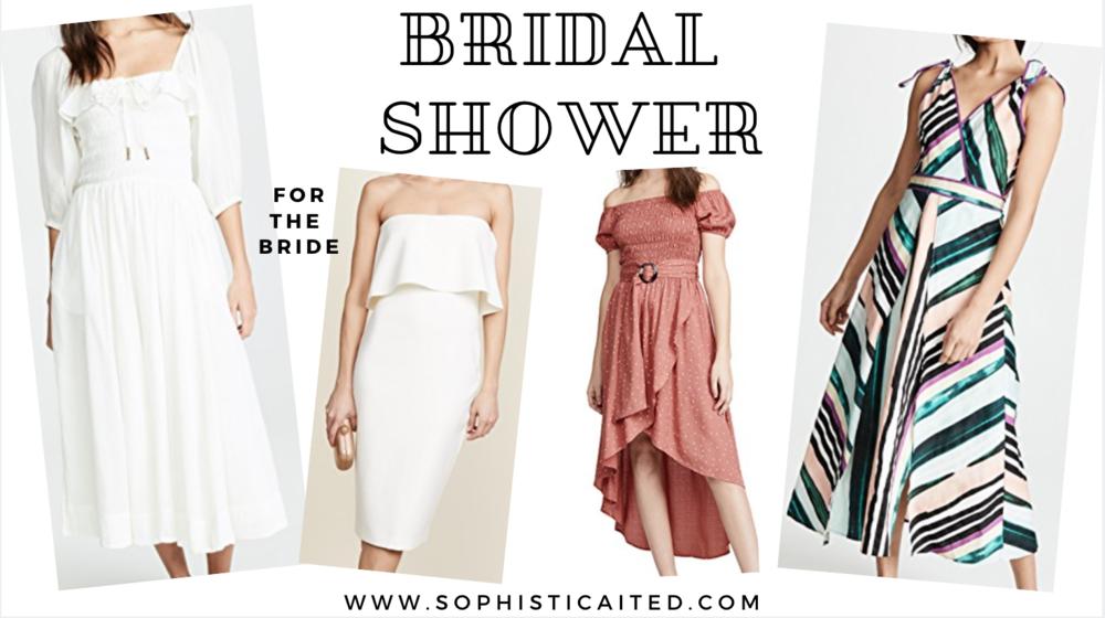 Bridal Shower Dresses | Sophisticaited | Cait Fore