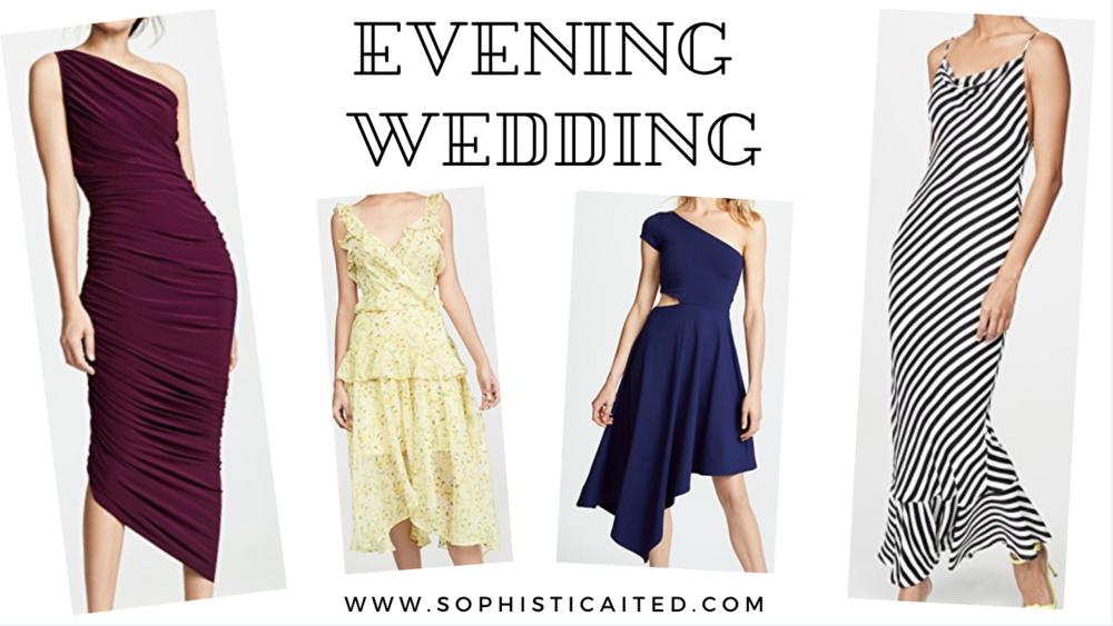 Evening Wedding Dresses | Sophisticaited | Cait Fore