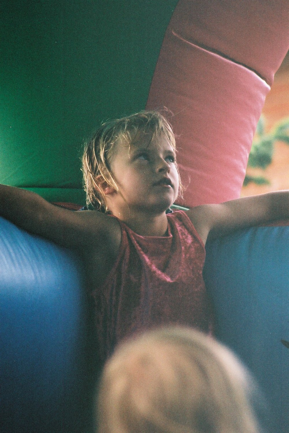 Emily on Bouncy Castle.JPG