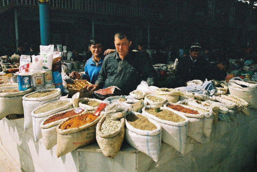 Spice market, Samarkand.jpg