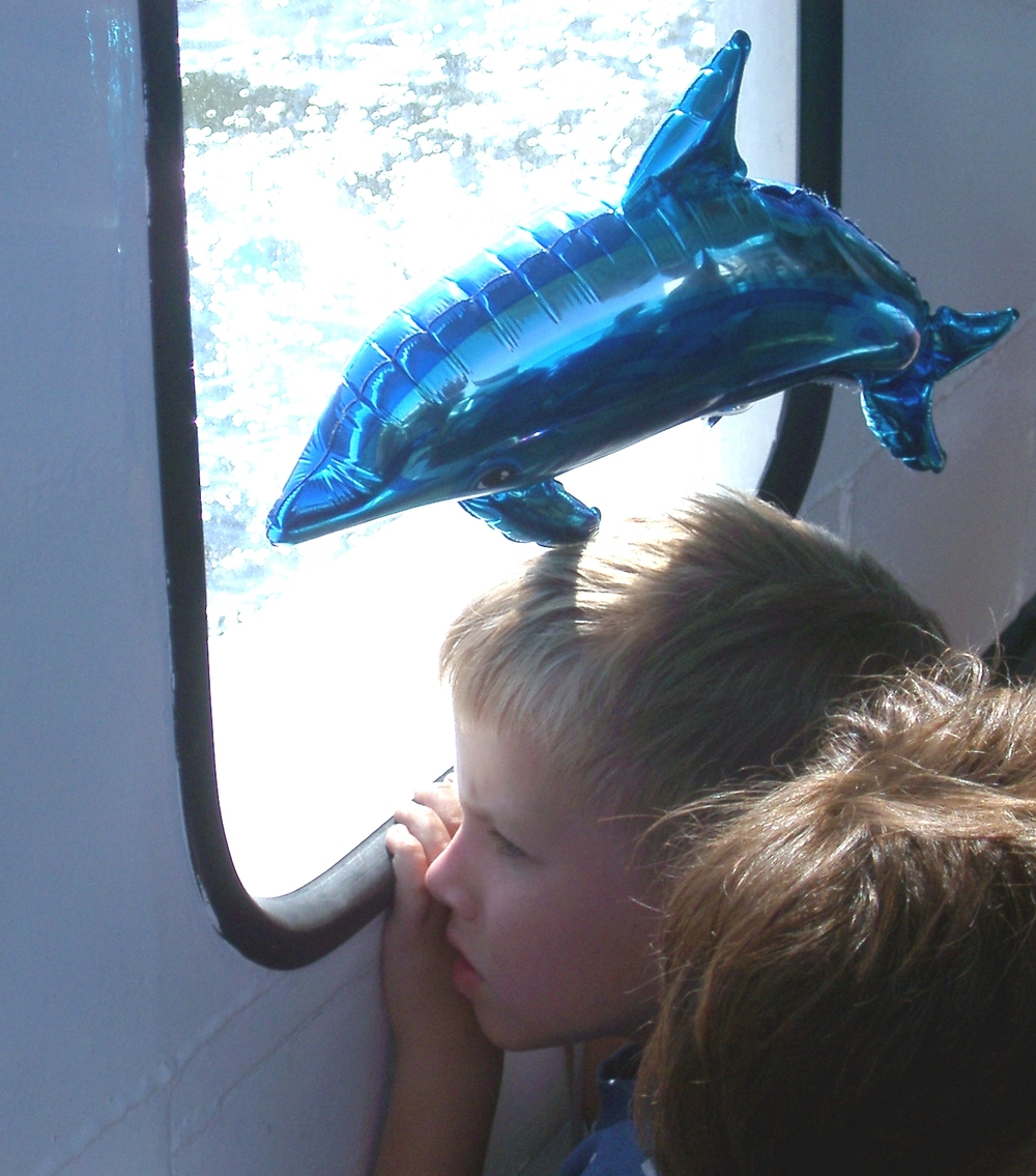 Boy with Dolphin, Stockholm.JPG
