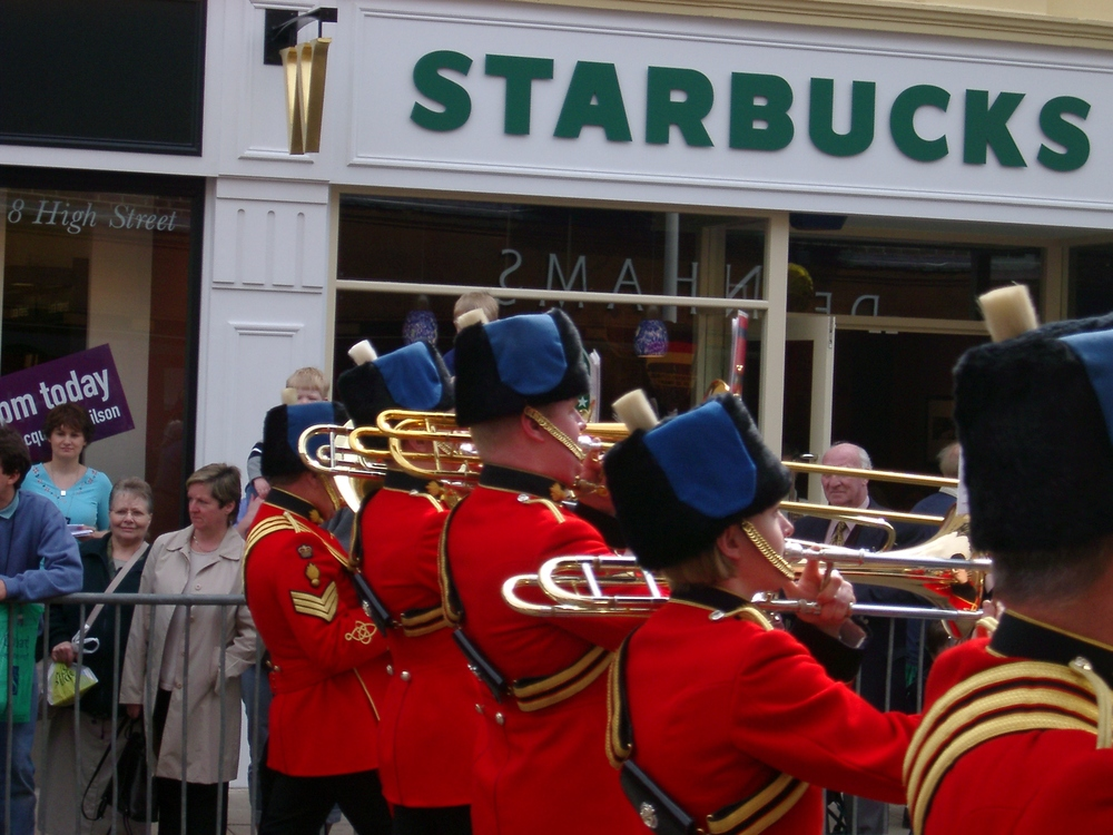 Marching Band, Stratford-upon-Avon.JPG