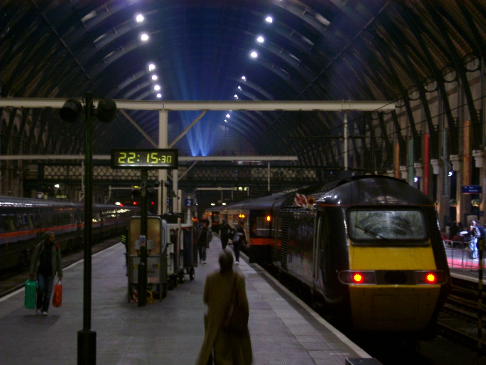 Station Platform, Kings Cross.JPG