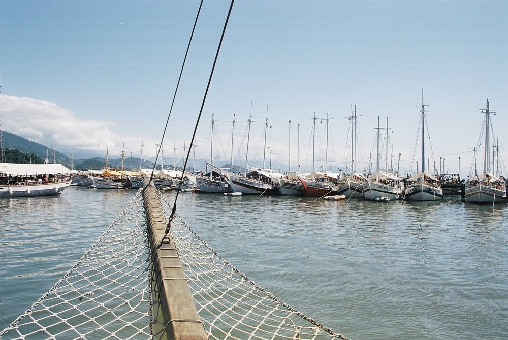 Tourist Boats, Parati.JPG