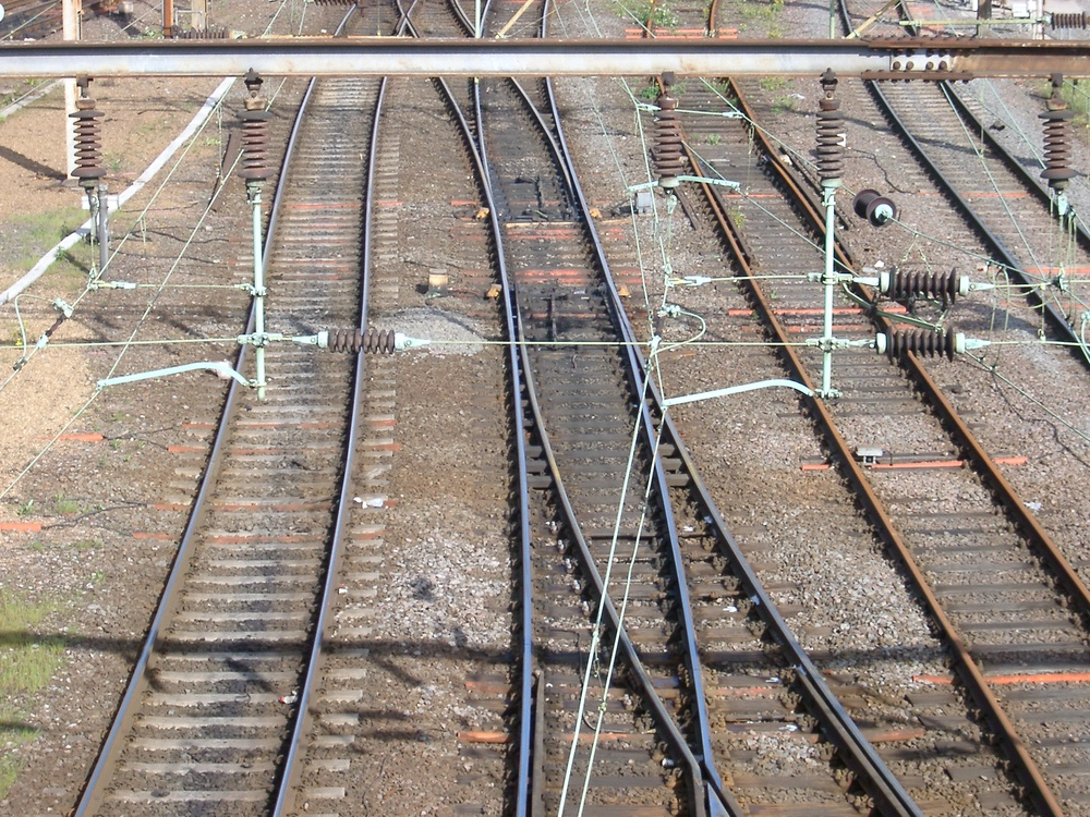 Train Tracks, Willesden Junction.JPG