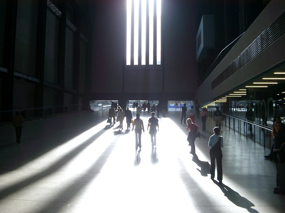 Leaving the Turbine Hall, Tate Modern.JPG