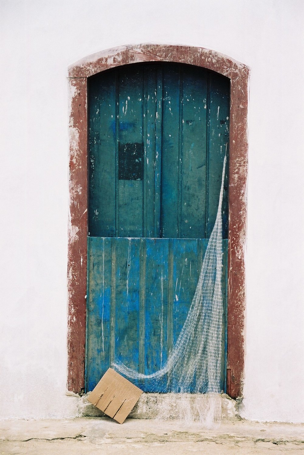 Net in Doorway, Parati.JPG