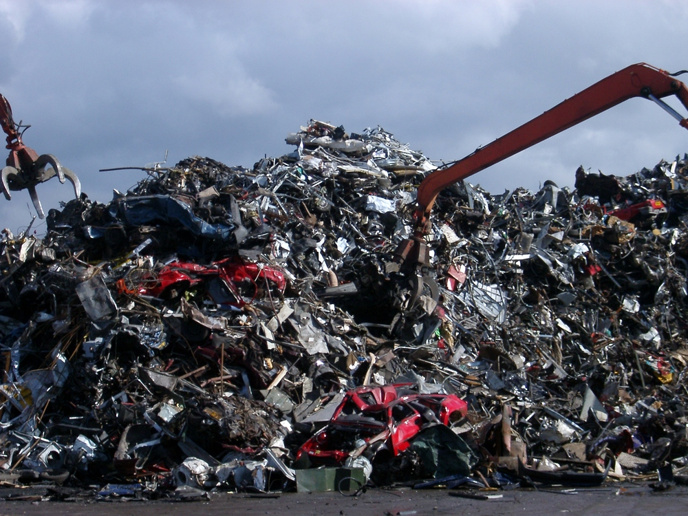 Scrap Metal, Willesden.JPG