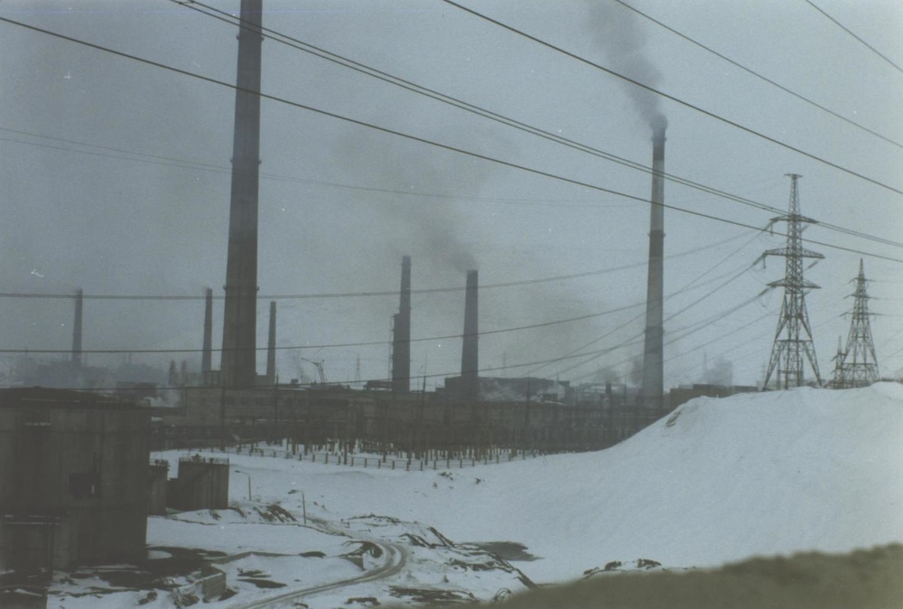 The Severonikel Kombinat nickel and copper plant at Monchegorsk, Kola Peninsula, Russia. (JAMES FLINT)