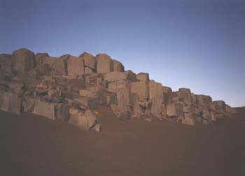 Basalt outcrop, Iceland. (JAMES FLINT)