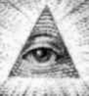 Horus Eye on Dollar Bill (bw 3x3).JPG