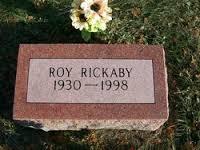Uncle Roy's Grave Stone