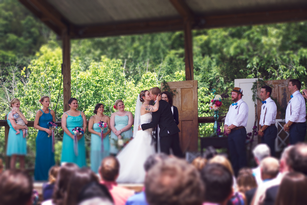 Wedding at Dawt Mill MO