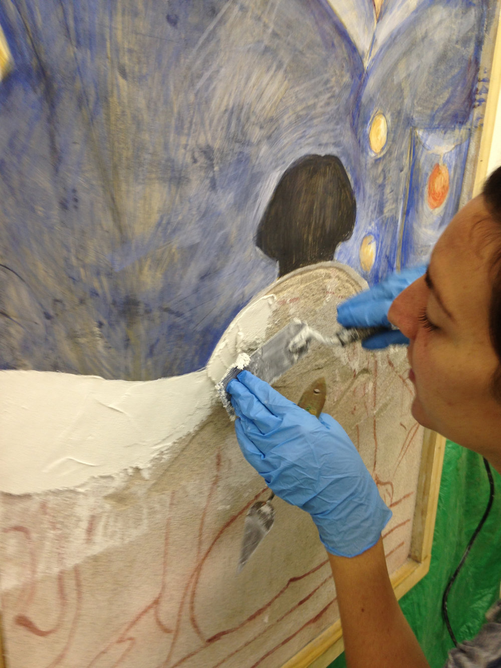 Fresco Workshop at Arrowmont School of Arts and Crafts
