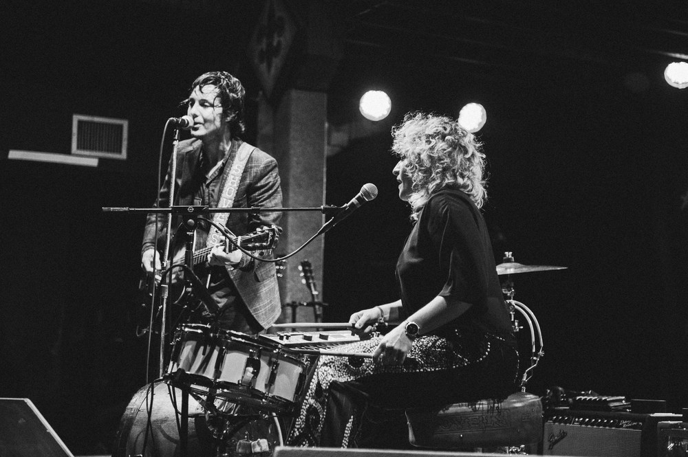 NEW ORLEANS, LA - February 15, 2014: Shovels and Rope (photo by Adrienne Battistella, 2013)