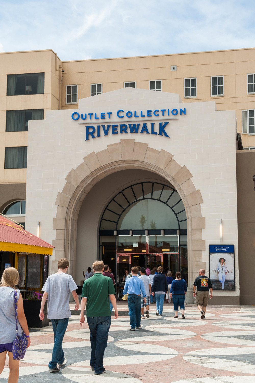 NEW ORLEANS, LA - May 24, 2014: The Outlet Collection at Riverwalk (photo by Adrienne Battistella, 2014)