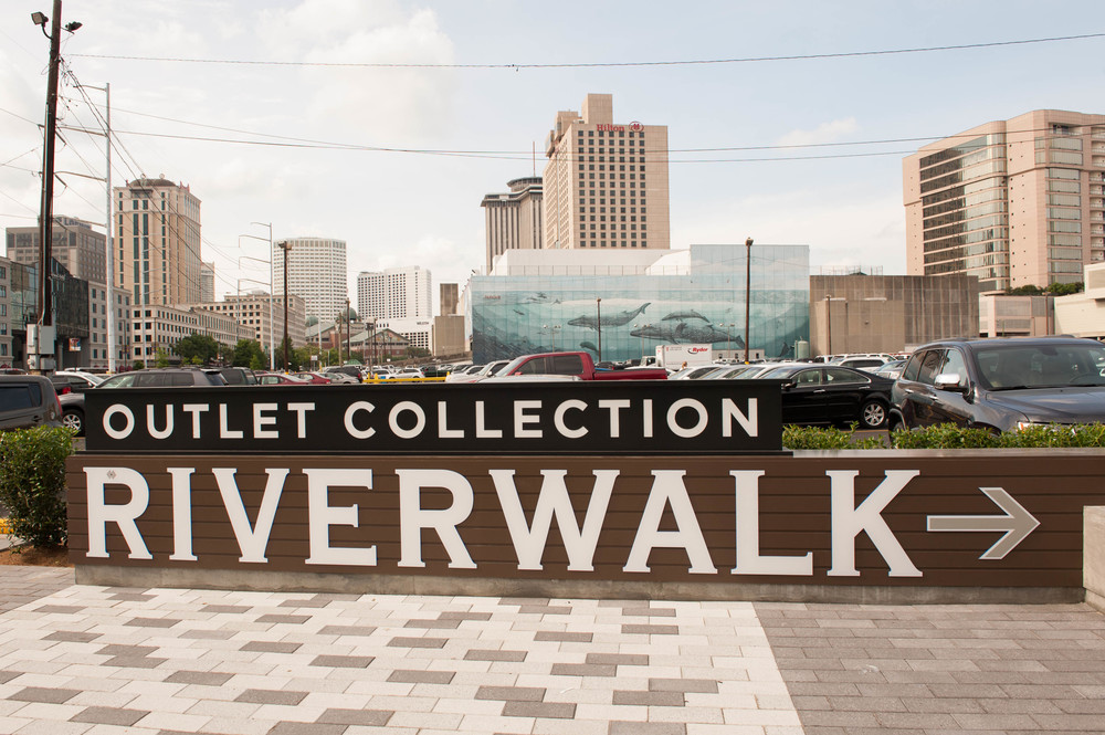 NEW ORLEANS, LA - May 26, 2014: The Outlet Collection at Riverwalk (photo by Adrienne Battistella, 2014)