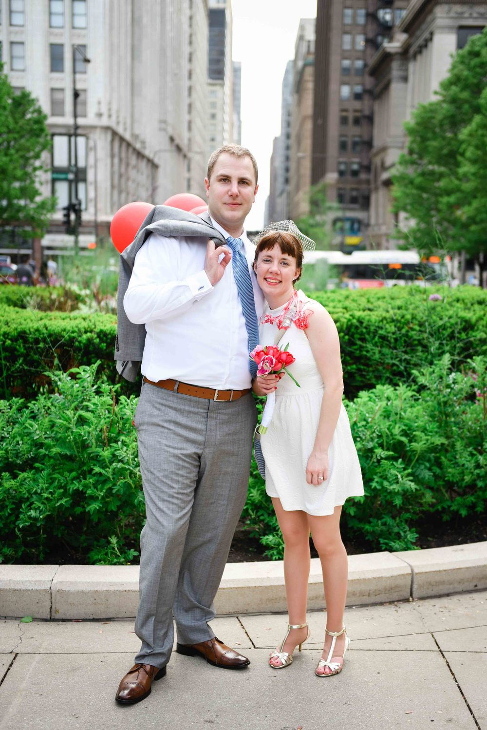 CHICAGO, IL - May 17, 2015: Chicago Wedding (photo by Adrienne Battistella, 2015. All Rights Reserved.)