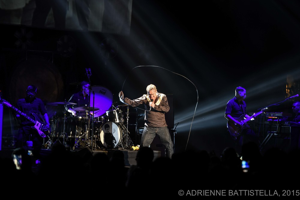 NEW ORLEANS, LA - June 11, 2015: Morrissey performs at the Saenger Theater in New Orleans, LA (photo by Adrienne Battistella, 2015. All Rights Reserved.)