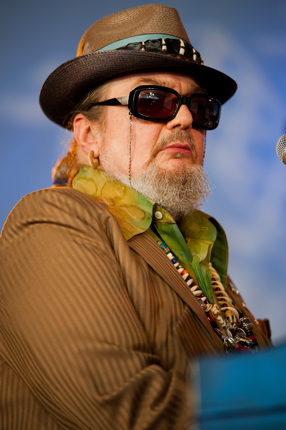 Dr. John (photo by Adrienne Battistella)