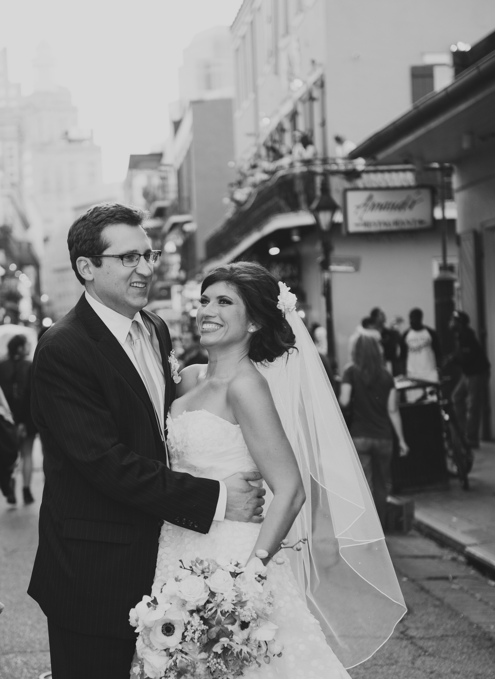 NEW ORLEANS, LA - March 16, 2013:  McDougal-Bennitt Wedding at the Royal Sonesta on Bourbon Street. Photo by Adrienne Battistella, 2013