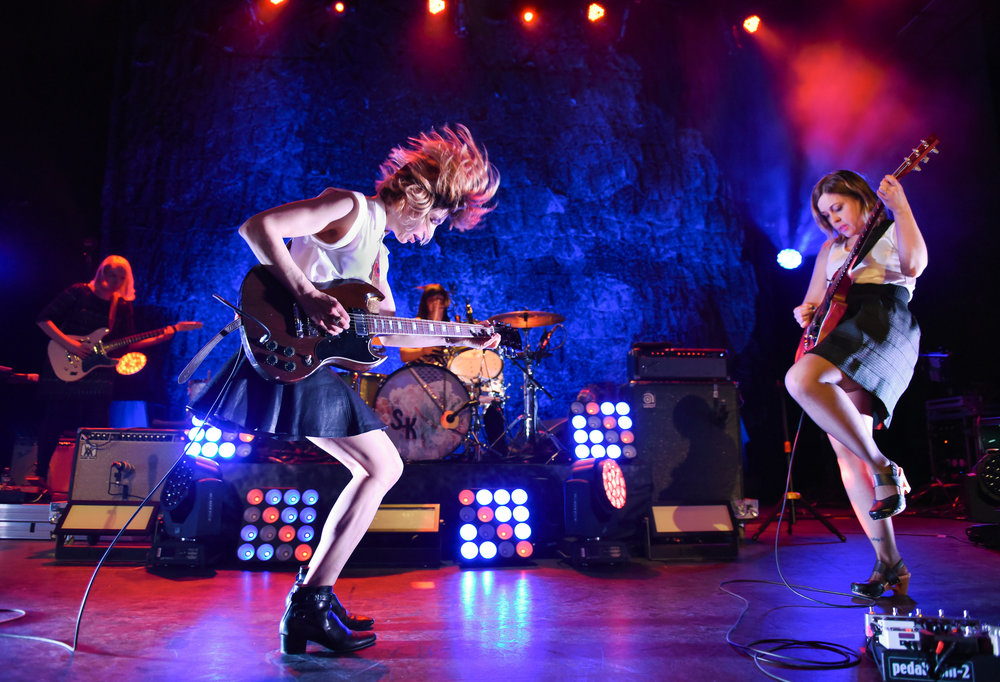 Sleater-Kinney by Adrienne Battistella