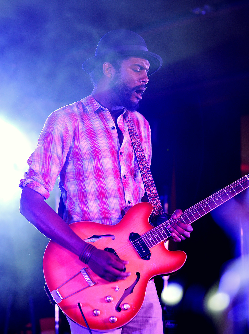 Gary Clark Jr. at Essence Fest by Adrienne Battistella