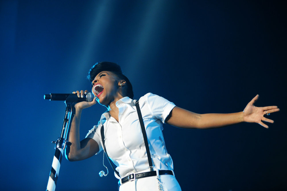 Janelle Monae at Essence Fest by Adrienne Battistella
