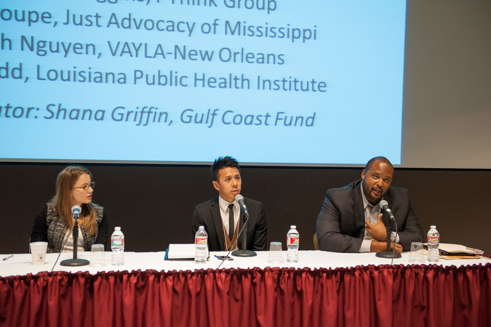 NEW ORLEANS, LA - November 15, 2013: Alliance Institute presents a Symposium for the Affordable Care Act at the Pan American Building.  (photo by Adrienne Battistella, 2013)