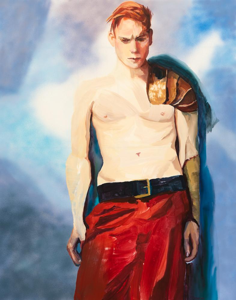 Urban Warrior, Acrylic on Canvas