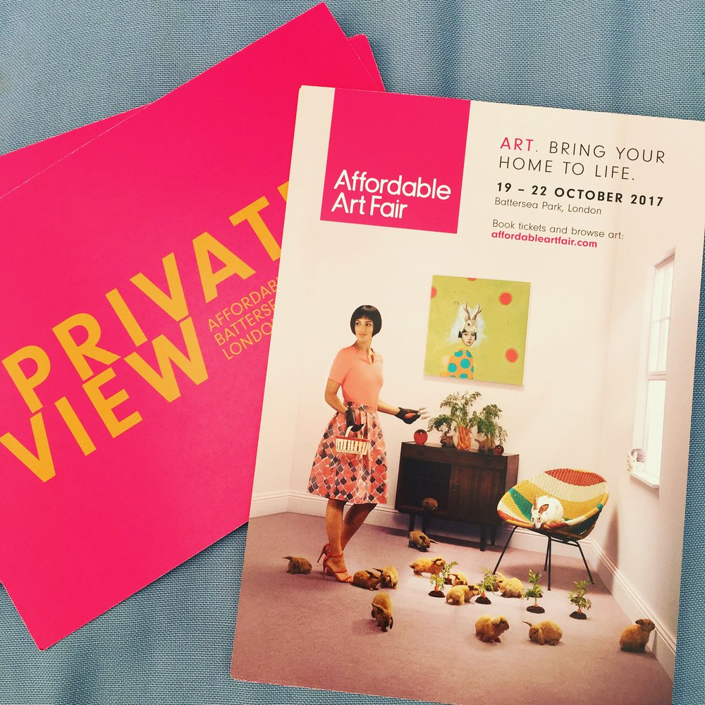 Private View invites for 18 October - Please email to receive a private view entry ticket for 2 people for 18 October 5.30-9.30pm. Jane will send it to you in the post