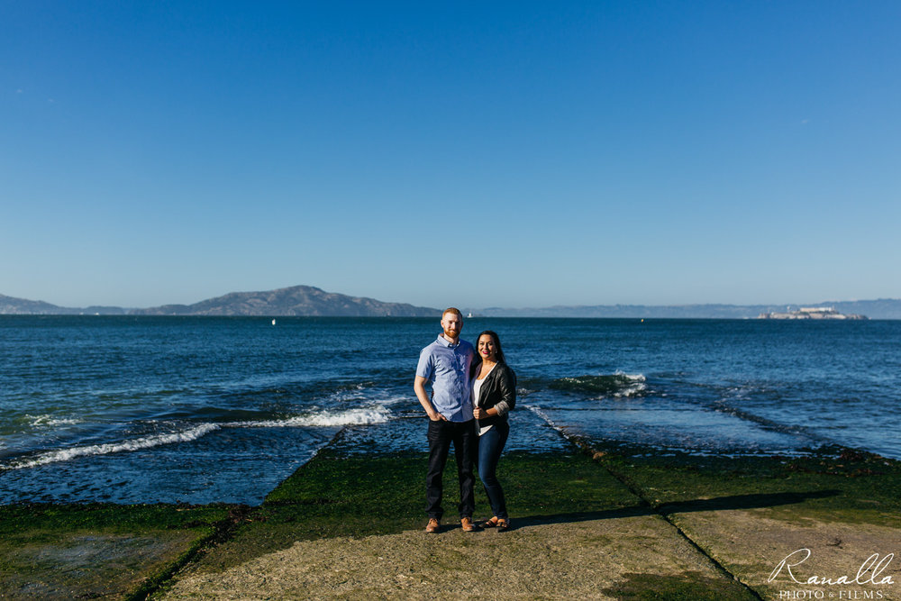 San Francisco Engagement Photos-Ranalla Photo & Films-Crissy Fields