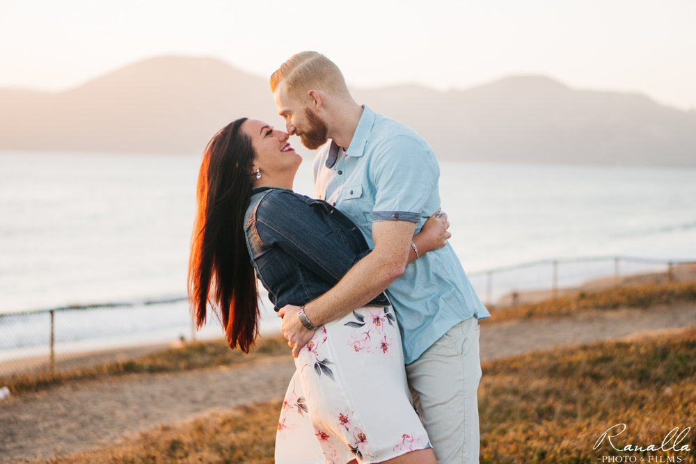San Francisco Engagement Photos-Ranalla Photo & Films-Baker Beach