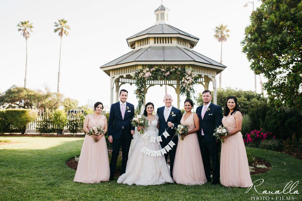 Cass House Wedding Photos-san luis obispo wedding photographer-Bridal Party Photos