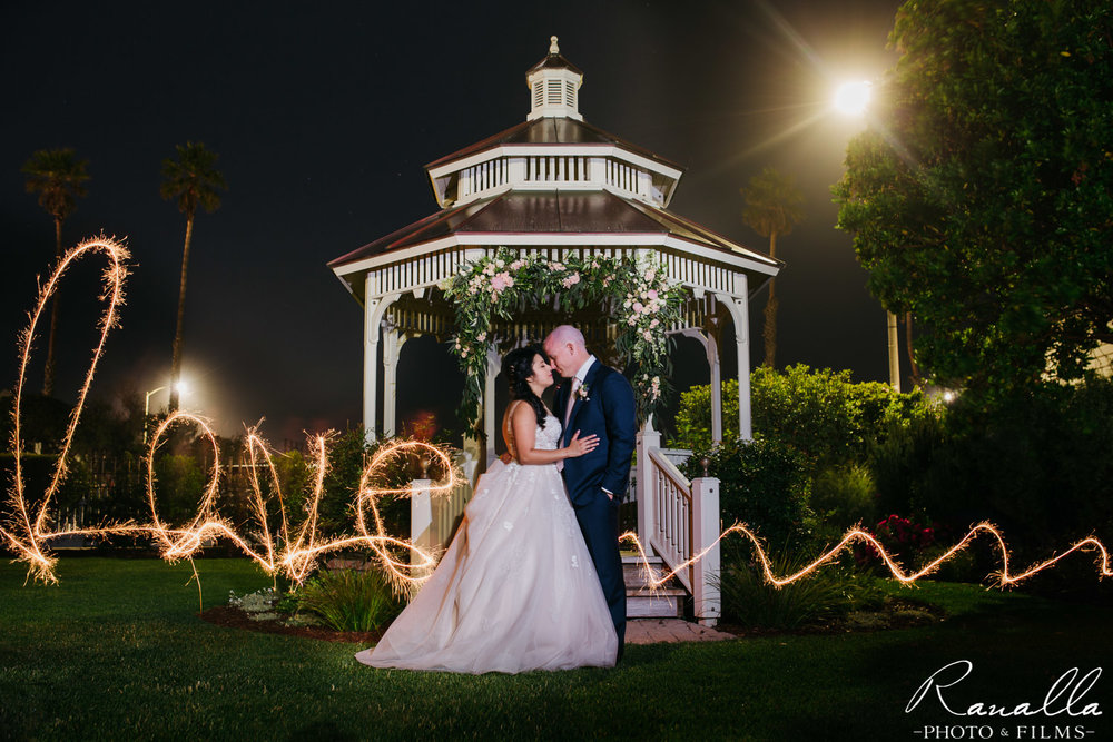Cass House Wedding Photos-san luis obispo wedding photographer-Sparkler Photos