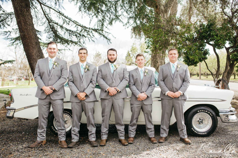 Chico Wedding Photography- Groomsmen Party- Patrick Ranch Wedding Photos- Ranalla Photo & Films