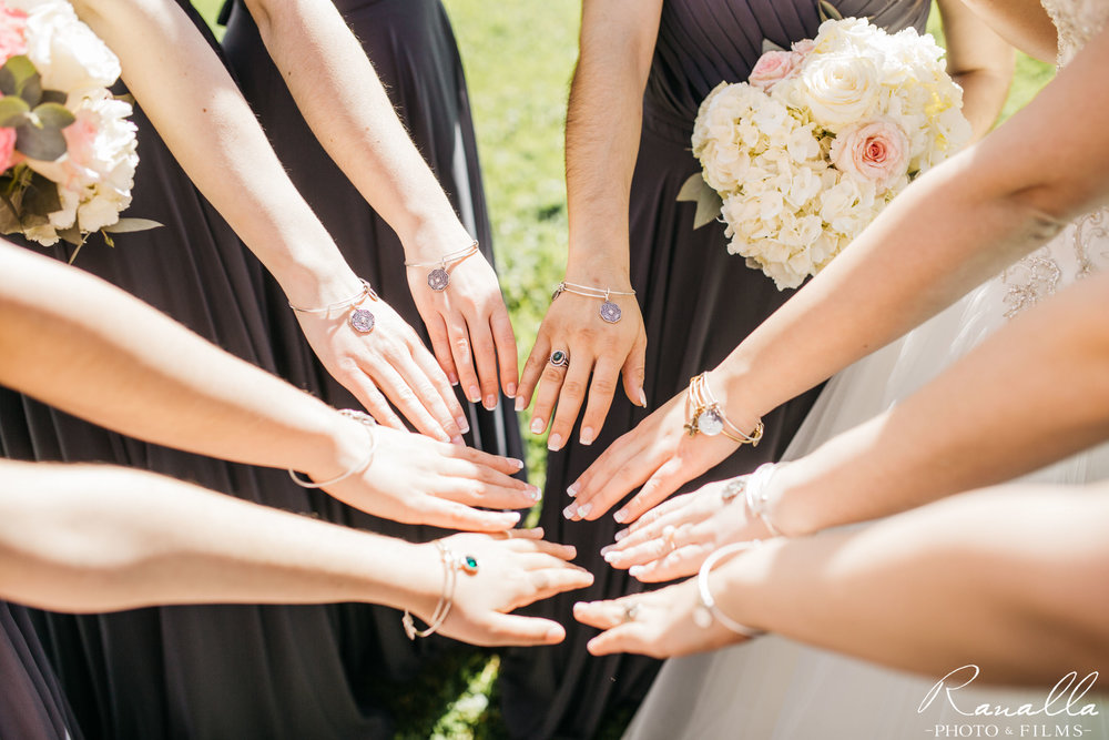 Chico Wedding Photography- Bridal Party Bracelets- Patrick Ranch Wedding Photos- Ranalla Photo & Films