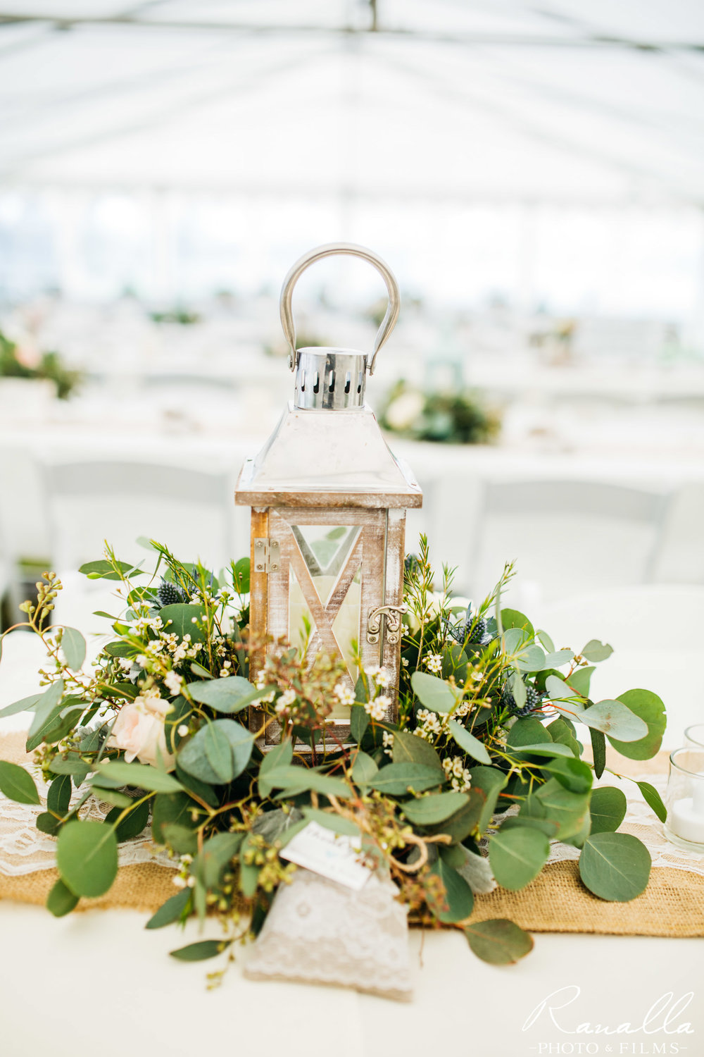 Chico Wedding Photography- Country Chic Lantern Centerpiece- Patrick Ranch Wedding Photos- Ranalla Photo & Films