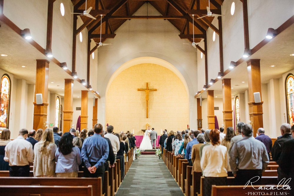Chico Wedding Photography- St.John's Baptist Church Wedding- Ranalla Photo & Films
