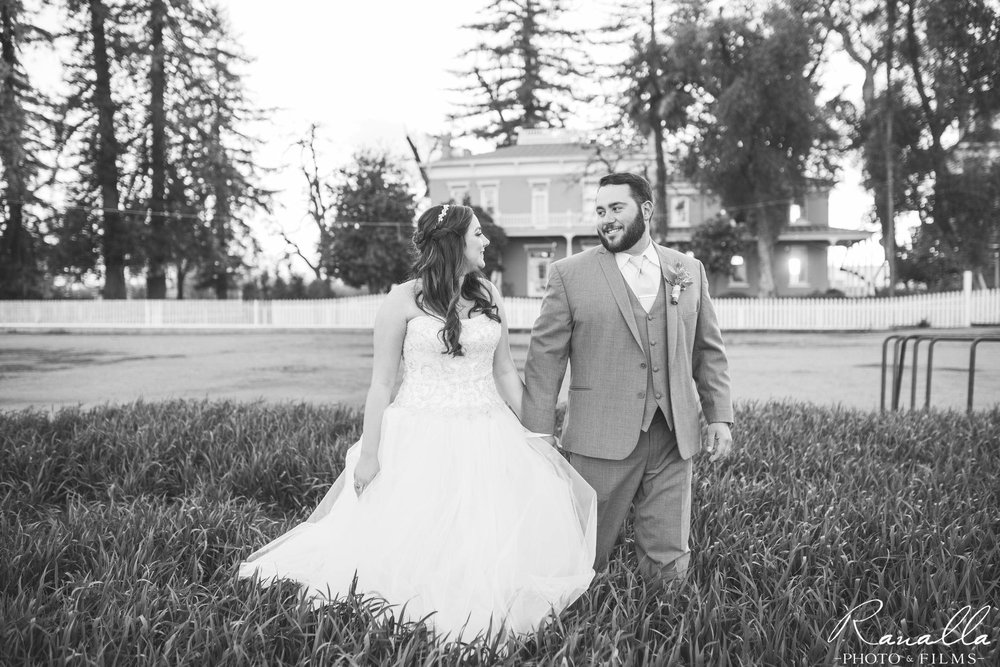 Chico Wedding Photography- Bride & Groom- Patrick Ranch Wedding Photos- Ranalla Photo & Films