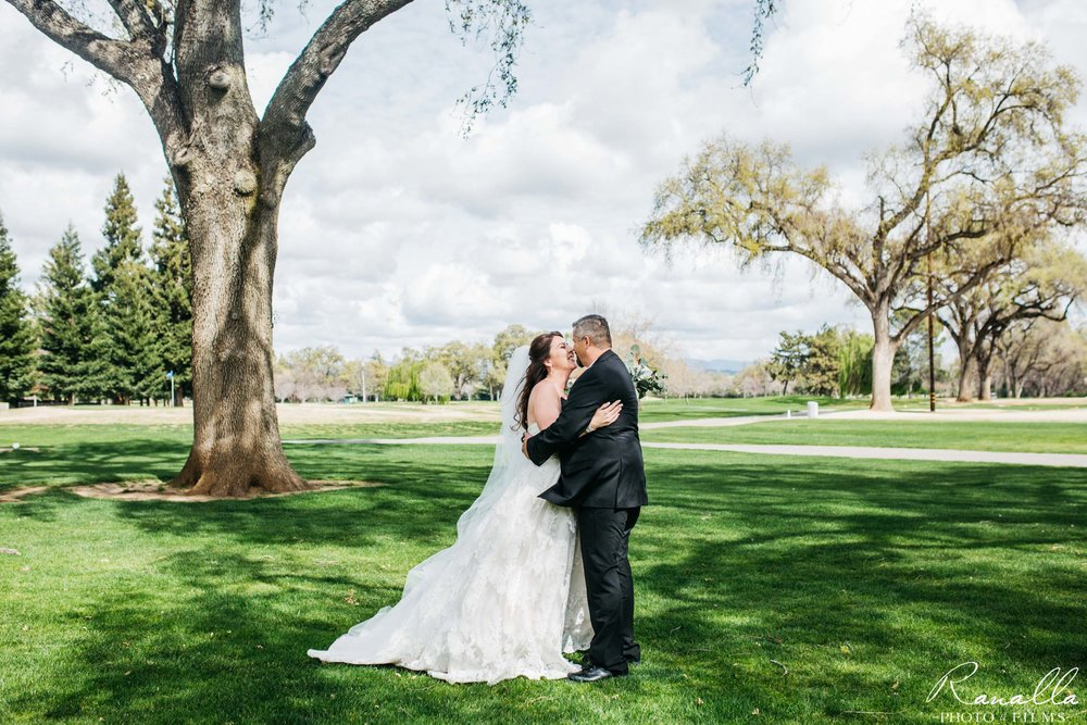 Chico Wedding Photography- Golf Course Wedding Venue- Live Oak Trees- Butte Creek Country Club- Simply Elegant Bridal- Ranalla Photo & Films