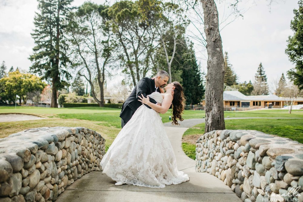 Chico Wedding Photography- Bride and Groom- Butte Creek Country Club- Simply Elegant Bridal- Ranalla Photo & Films